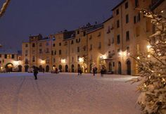 Christmas in Lucca, Tuscany, Italy
