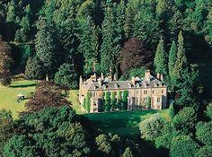 Hotel Kinnaird. Escocia. Mansions, House Styles, Home Decor, Scotland, Hotels, Luxury Houses, Interior Design, Home Interior Design, Palaces