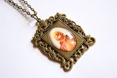 Luchador Necklace by misanthropycreations on Etsy, $22.00