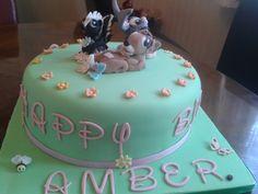 Bambi & friends cake