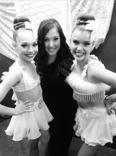 Maddie and Kalani with Gia