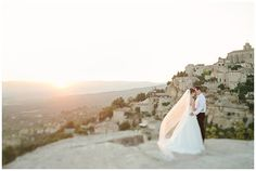 #Brautpaar in der #Provence
