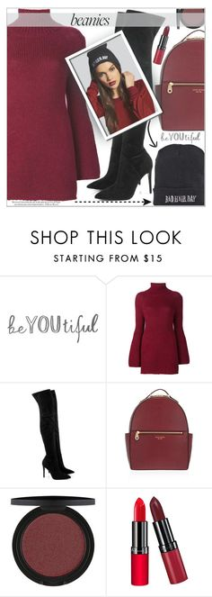 """""""BAD HAIR DAY:BEANIES"""" by shoaleh-nia ❤ liked on Polyvore featuring Rosetta Getty, Kendall + Kylie, Henri Bendel and Rimmel"""