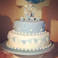 Bildergebnis für torte zur taufe junge