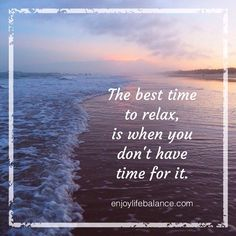 The best time to relax, is when you don't have time for it. #sunset #pretty #beautiful #orange #pink #sky #nature #clouds #instagood #gorgeous #warm #quote #relax #balance