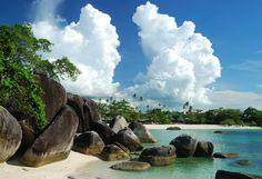 Parai Tenggiri Beach, Bangka Belitung islands, Indonesia