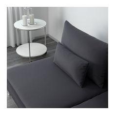 SÖDERHAMN Three-seat section - Samsta dark gray - IKEA
