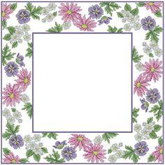 Схемы вышивки крестом категории Цветы | Иголочка - igolochka