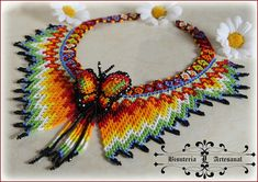 Beaded Necklace Patterns, Jewelry Patterns, Necklace Designs, Beading Patterns, Beaded Earrings, Beaded Jewelry, Crochet Earrings, Beading Projects, Beading Tutorials