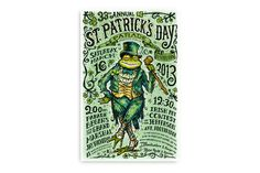 St. Patrick's Day Poster on Behance