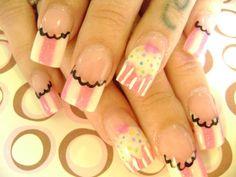 Cupcake Couture Nail Art