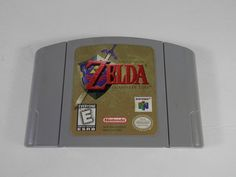 Legend of Zelda: Ocarina of Time N64 Cartridge Only Nintendo 64 by WesternKyRustic on Etsy