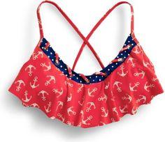 Sperry Top-Sider Anchor Hanky Bikini Top