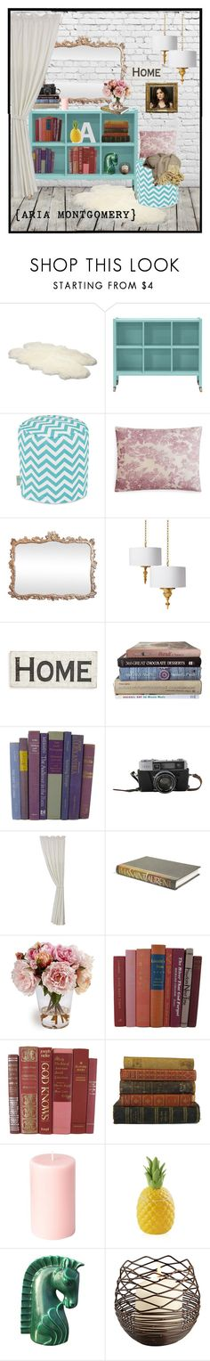 """Aria Montgomery - living space"" by mara-glamour ❤ liked on Polyvore featuring interior, interiors, interior design, home, home decor, interior decorating, UGG Australia, Kevin O'Brien, Primitives By Kathy and HiEnd Accents"