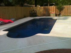 Central Pools Inc Baton Rouge Louisiana Trilogy Fiberglass Pools Pegasus