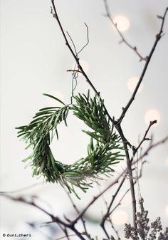 Tannenkränze klein Deko Weihnachten