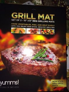 Savvy Sweeper : #Yumms! #BBQ #Grilling #Mat Review
