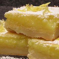 Barres au citron @ qc.allrecipes.ca
