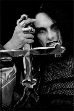 Dani Filth of Cradle of Filth Dani Filth, Goth Music, Cradle Of Filth, Aesthetic Collage, Story Inspiration, Great Bands, Back To Black, Metal Bands, Music Songs