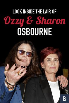 "The Prince of Darkness and queen of ""The Talk"" lived in this estate, now for sale. Check out their beautiful Beverly Hills home here! Ozzy And Sharon Osbourne, Beverly Hills Houses, Frugal Tips, Celebrity Houses, Photo Credit, Darkness, Prince, Queen, Lifestyle"
