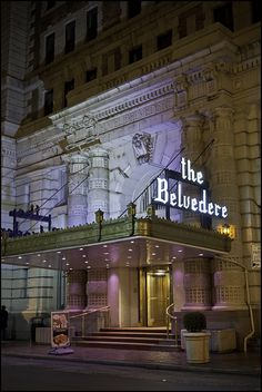 The Belvedere Hotel - A gorgeous old hotel in the Mt. Vernon area of Baltimore. I love this space.