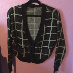 Happy Plaid Sweater One of my favorite items from my closet! In excellent like new condition. Sweaters Cardigans