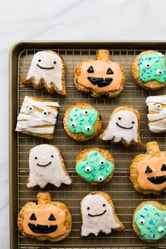 Constellation Inspiration: Halloween Brown Sugar Breakfast Tarts