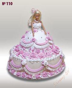 Торт Кукла, детский торт, торт для детей, торт для девочки #торт #заказатьторт #купитьторт #детскийторт #тортдлядевочки