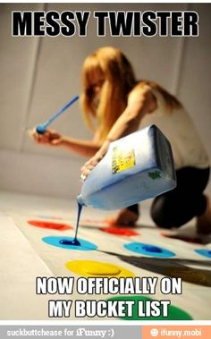 Funny pictures about Twister With A Twist. Oh, and cool pics about Twister With A Twist. Also, Twister With A Twist photos. Messy Twister, Twister Game, Just In Case, Just For You, Do It Yourself Inspiration, No Bad Days, My Sun And Stars, Youre My Person, The Bucket List