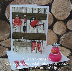 Stampin Up! UK Independent  Demonstrator Susan Simpson, Craftyduckydoodah!, Gift from the Garden, Hardwood, Supplies available 24/7,