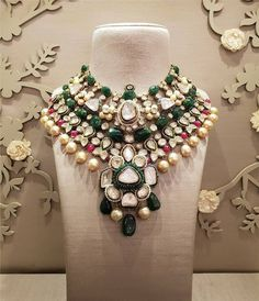 Delhi : October 2018 at Hotel Ashok, Chanakyapuri Crafted to perfection, jewels by strike a perfect melange of gemstones and emaralds that define immaculate craftsmanship. Indulge in their finest bridal jewelry only at Bridal Asia Delhi 2018 . Stylish Jewelry, Jewelry Accessories, Jewelry Design, Fashion Jewelry, Fine Bridal Jewelry, Indian Wedding Jewelry, India Jewelry, Mughal Jewelry, Antique Jewellery