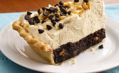 Mile-High Peanut Butter-Brownie Pie Recipe