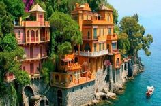 101 Most Beautiful Places You Must Visit Before You Die! – part 3 portofino, italy amalfi coast? Places To Travel, Places To See, Travel Destinations, Amazing Destinations, Best Places In Italy, Tourist Places, Best Places To Live, Dream Vacations, Vacation Spots