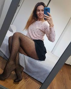 Womens Fashion Stores, Latest Fashion For Women, Nylons, Short Skirts, Mini Skirts, Cheap Womens Tops, Pantyhose Lovers, Party Tops, Women Legs
