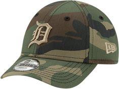 online retailer 70f40 6c00c Detroit Tigers New Era Kids 940 Camo Fabric Baseball Cap (Ages 2 - 10 –