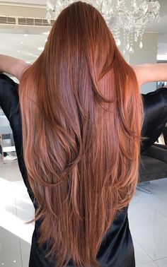 Women with Beautiful Hair Dramatic Hair Colors, Brown Hair Colors, Hair Colours, Long Red Hair, Super Long Hair, Silky Hair, Smooth Hair, Beautiful Long Hair, Gorgeous Hair