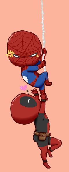 Spideypool by guardian-angel15 on deviantART