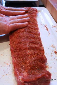 Sweet. Spicy and Smoky Dry Rub ~ Awesome... can be used a beef. chicken and pork