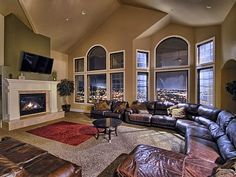 VRBO.com #300262ha - Luxury Mansion! Views! Sleeps up to 60! 9,000 Sf, Theater, Hot Tub,Huge! 9 Bdrm