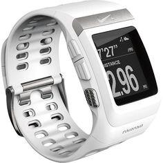 White Nike Running Watch