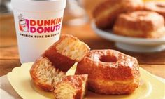 Dunkin' Donuts releases new croissant-donut hybrid - but insists it has nothing whatsoever to do with the Cronut