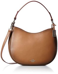 5573bb70533f COACH Women s Burnished Leather Coach Nomad Crossbody Review