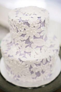 ♔ Lavender Cake