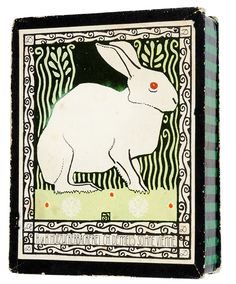 Josef Diveky, Happy Easter Postcard, For Wiener Werkstätte, Vienna. Needlepoint Kits, Needlepoint Canvases, Illustration Sketches, Graphic Illustration, Illustrations, Happy Easter, Easter Bunny, Art Nouveau, Pottery Patterns