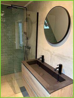 Industrial bathroom bathroom inspiration The new bathroom To add some color we h. Bathroom Toilets, Bathroom Renos, Small Bathroom, Bad Inspiration, Bathroom Inspiration, Tiny Bath, New Toilet, Industrial Bathroom, Bedroom Flooring