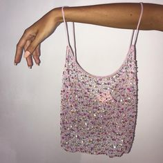 ✨ A delicate hand beaded cami to wear absolutely anywhere ✨ looks v cute with your fave bra or cami underneath if sheer isn't your jam 🥳… V Cute, Looks Vintage, Vintage Tops, Mode Inspiration, Passion For Fashion, Fashion Beauty, Creations, Cute Outfits, Girly