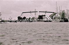 Hochwasser in #Greifswald #Wieck im Herbst 1995. #history