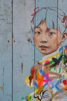 #TBT 'Different Strokes' print collab with Martin Whatson and graffitiprints.com earlier this year- Ernest Zacharevic