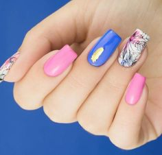 This combination really works and how! #nailart #springnails