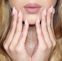 Lip Liner: 'Natural' by LA Girl Cosmetics Lipstick: 'Velvet Teddy' by Mac